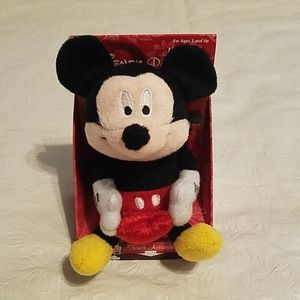 Valentines Disney Mickey Mouse Musical Palm Pal